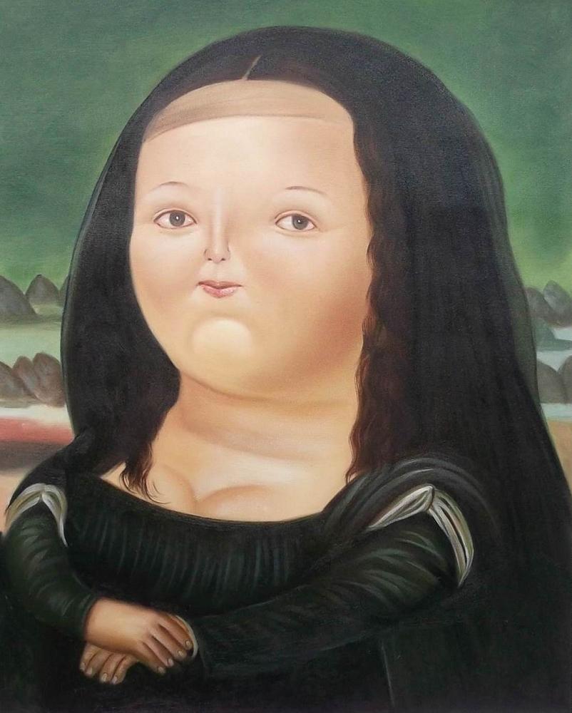 Botero - 1959 Mona Lisa a los 12 años
