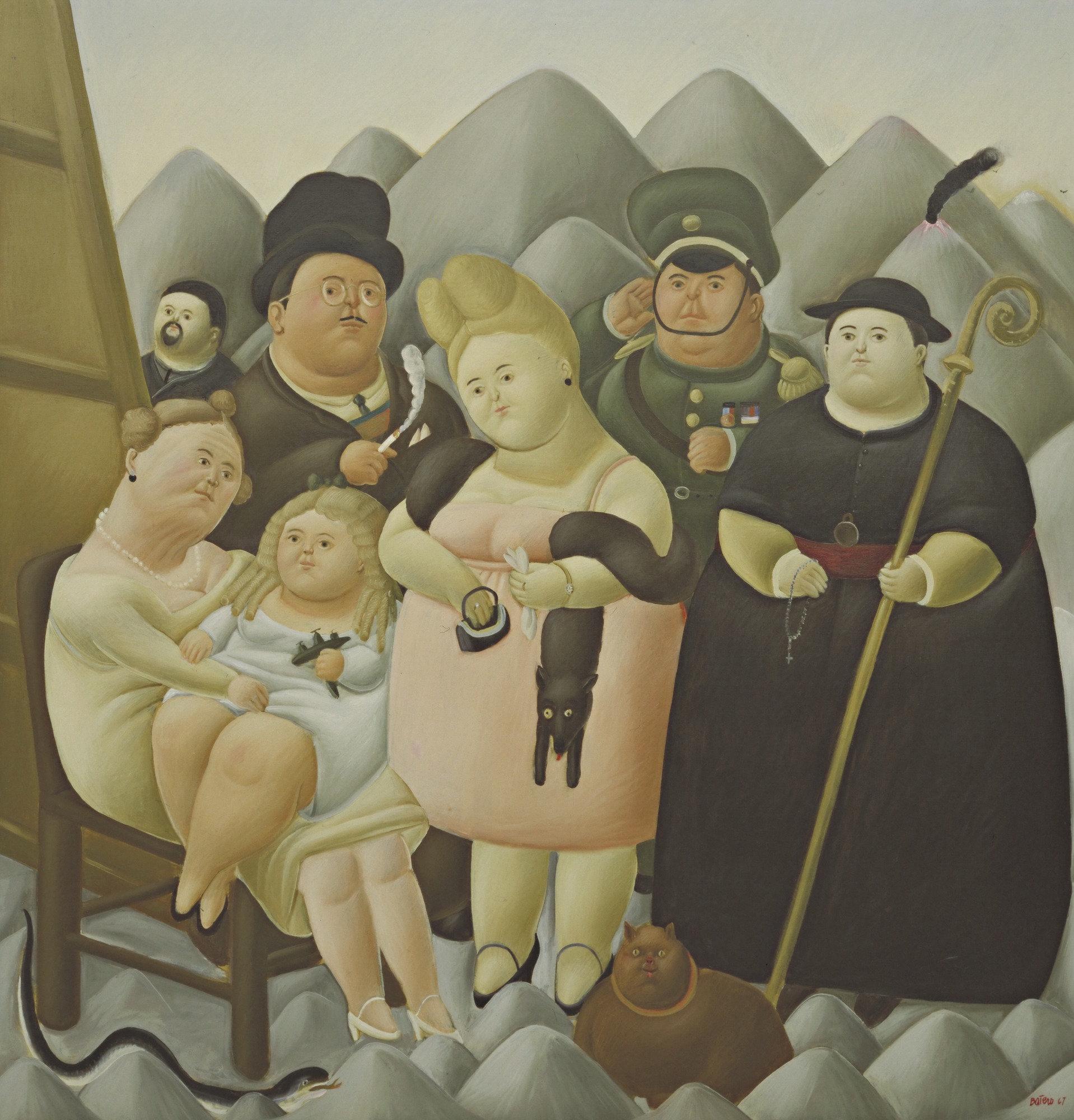 Botero - 1967 La familia presidencial
