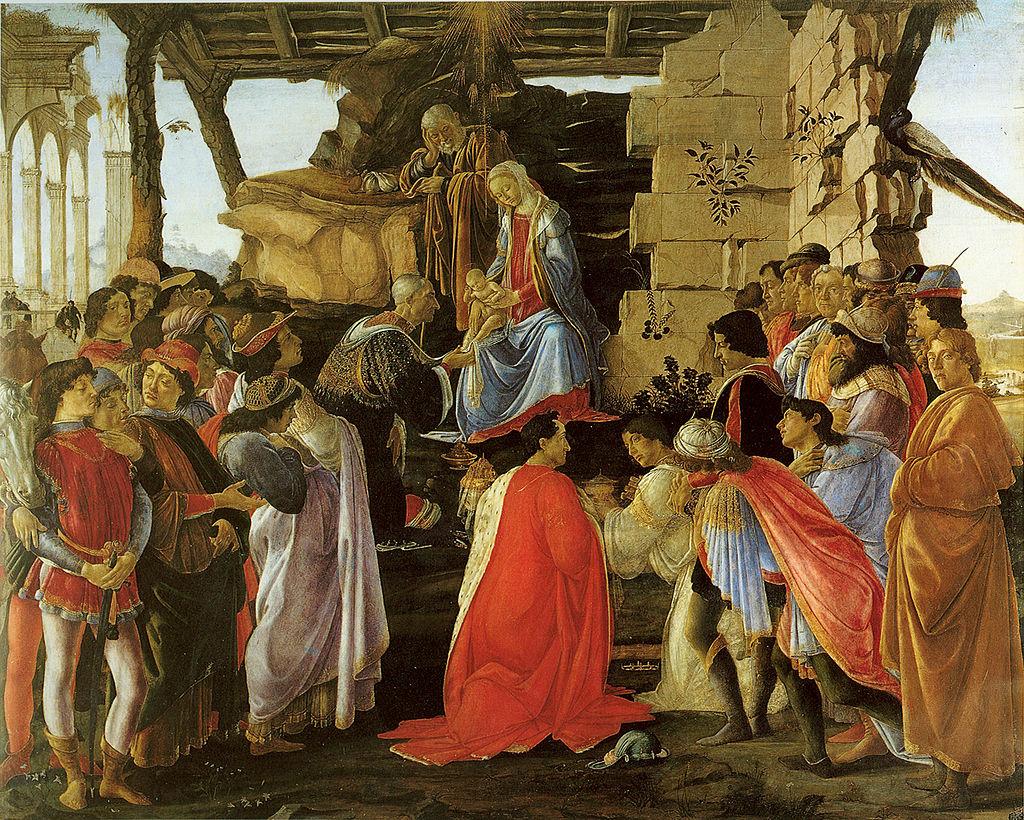 Botticelli - 1476 Adoración de los Magos