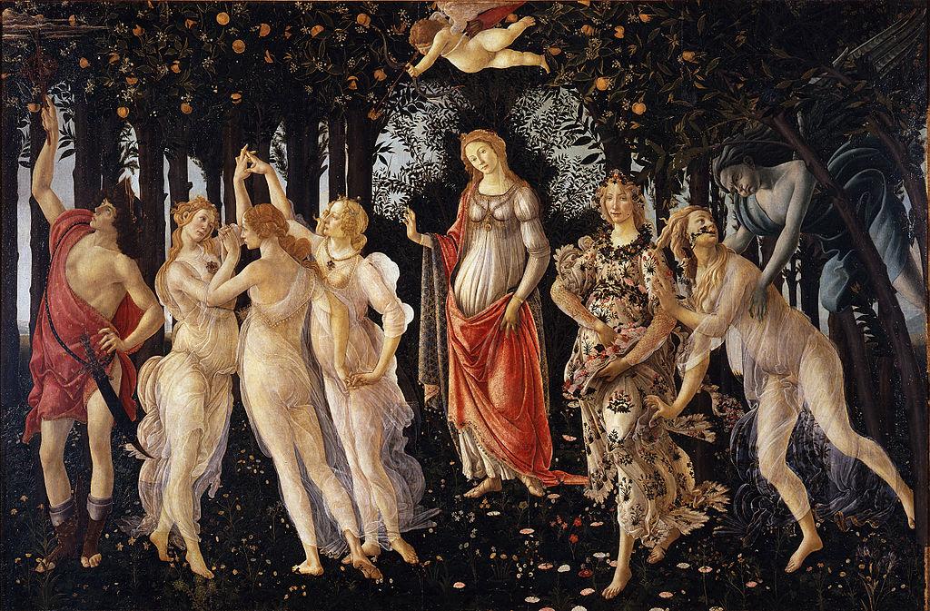 Botticelli - 1482 La primavera