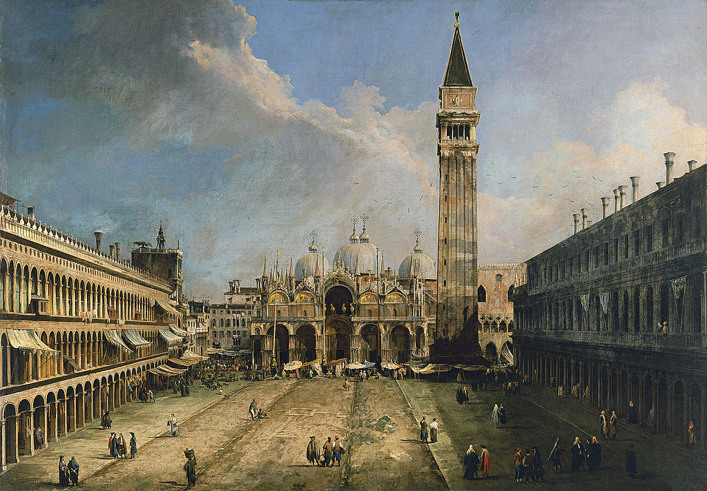 Canaletto - 1730 Plaza de San Marcos