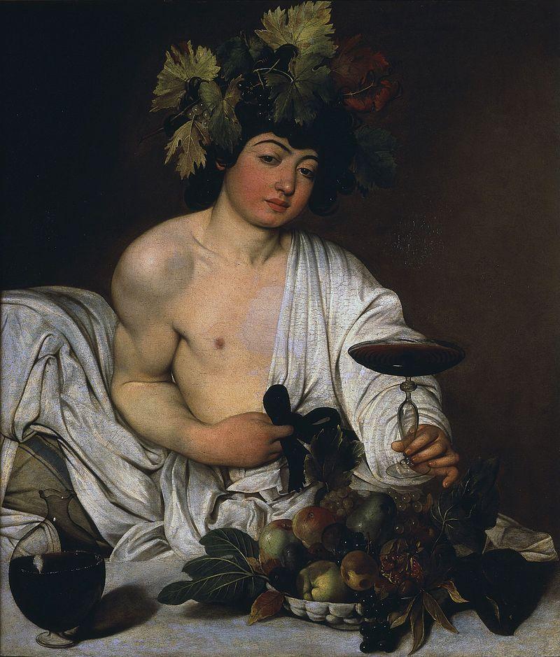 Caravaggio - 1595 Baco