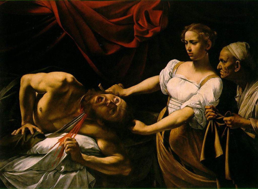 Caravaggio - 1599 Judit y Holofernes