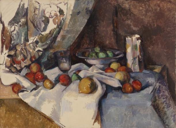 Cézanne - 1895 Naturaleza muerta con manzanas