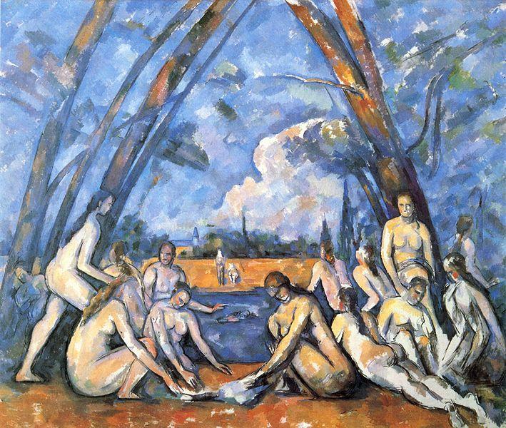 Cézanne - 1898 Las grandes bañistas