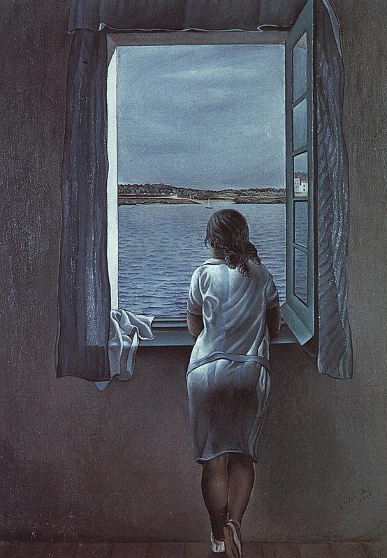 Dalí - 1925 Muchacha en la ventana
