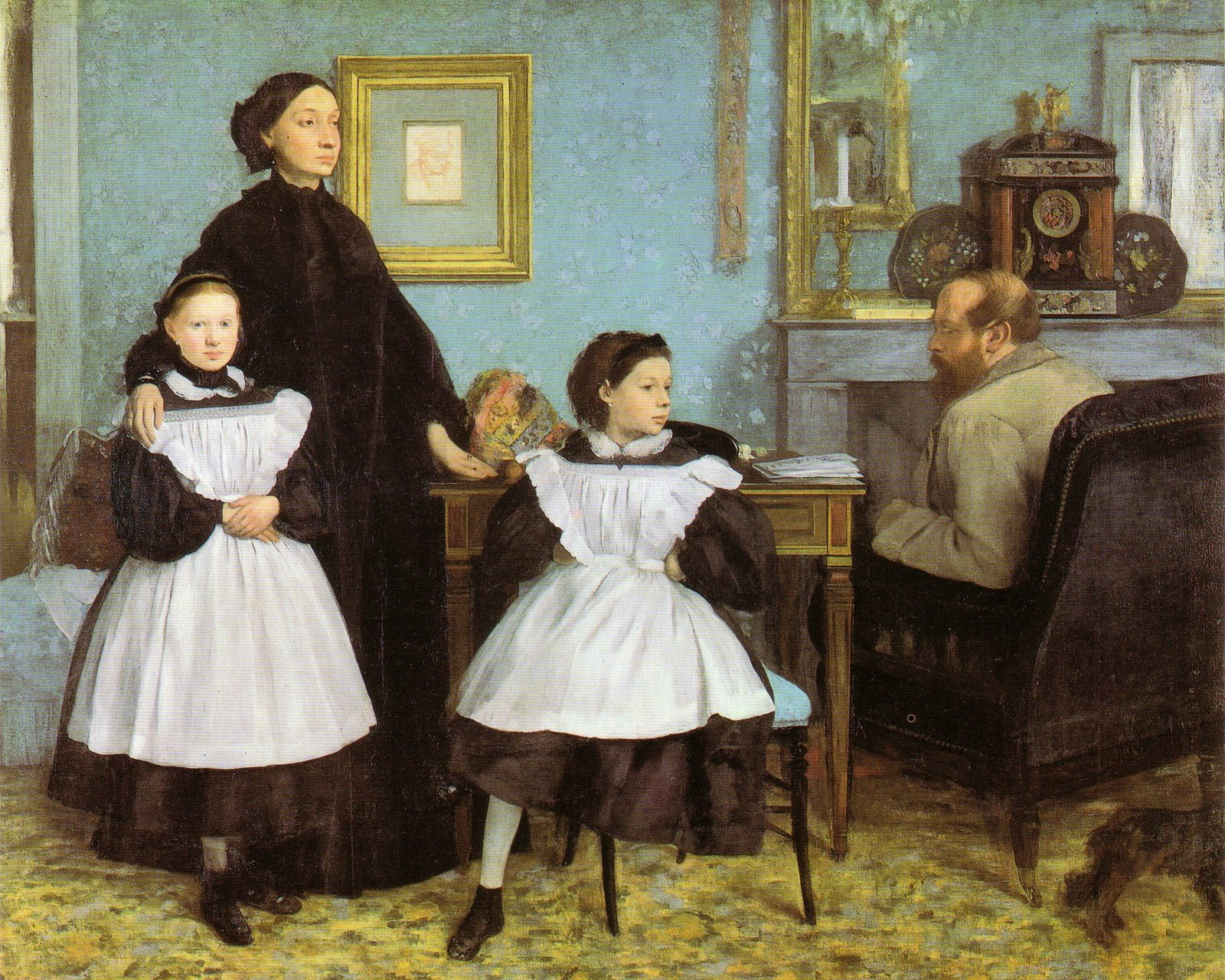 Degas - 1858-1867 La familia Belleli
