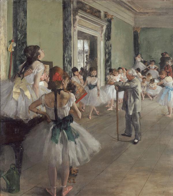 Degas - 1871-1874 La clase de danza
