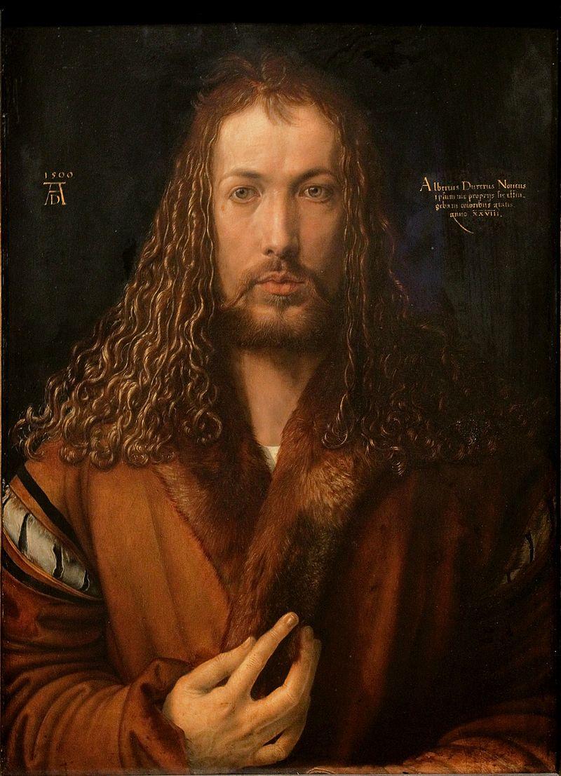 Durero - 1500 Autorretrato de Durero