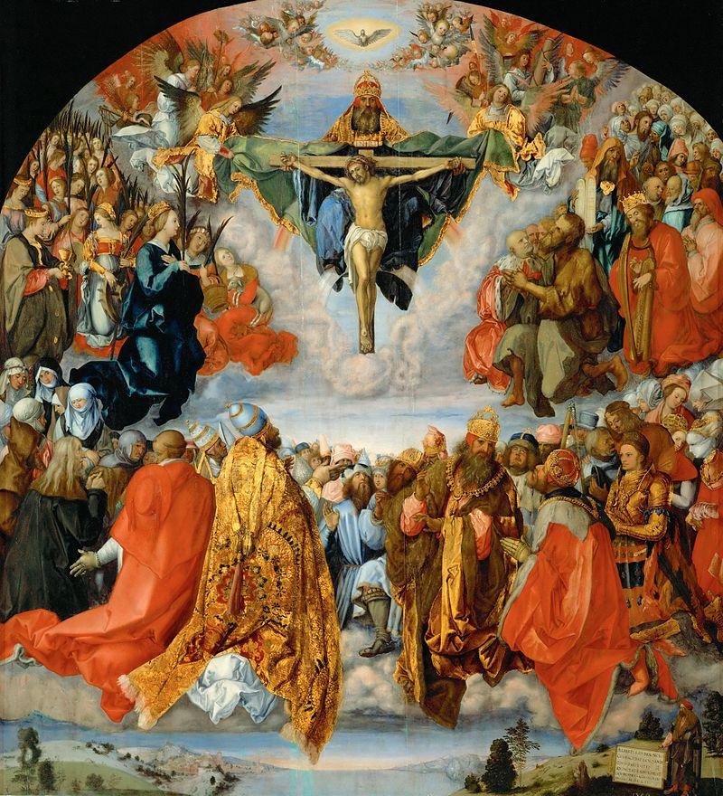 Durero - 1511 Adoración de la Trinidad