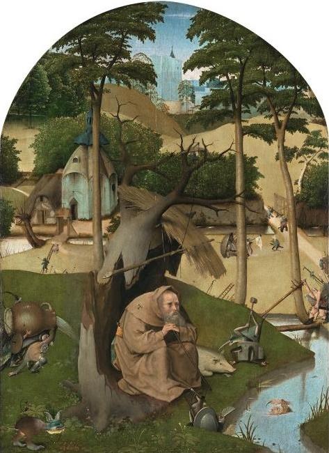 El Bosco - 1490 Las tentaciones de San Antonio Abad