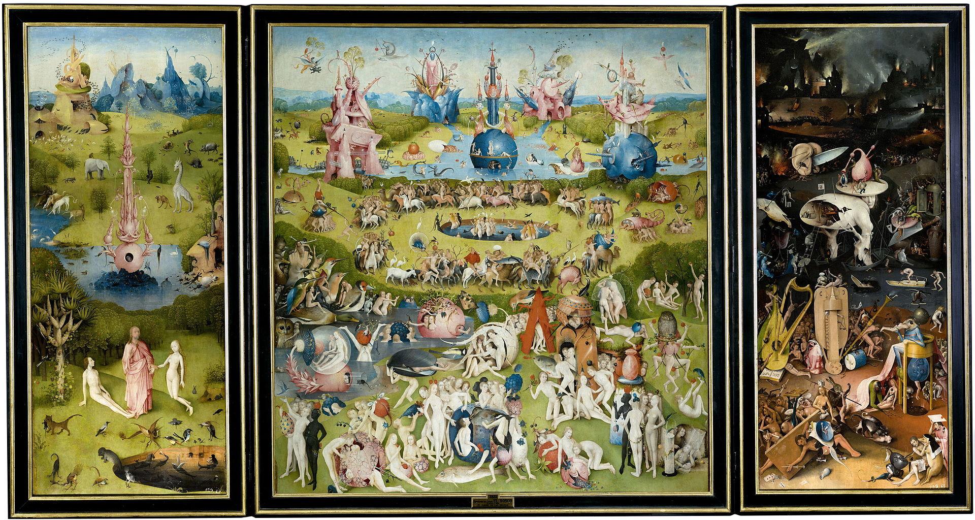 El Bosco - 1503-15 El jardín de las delicias