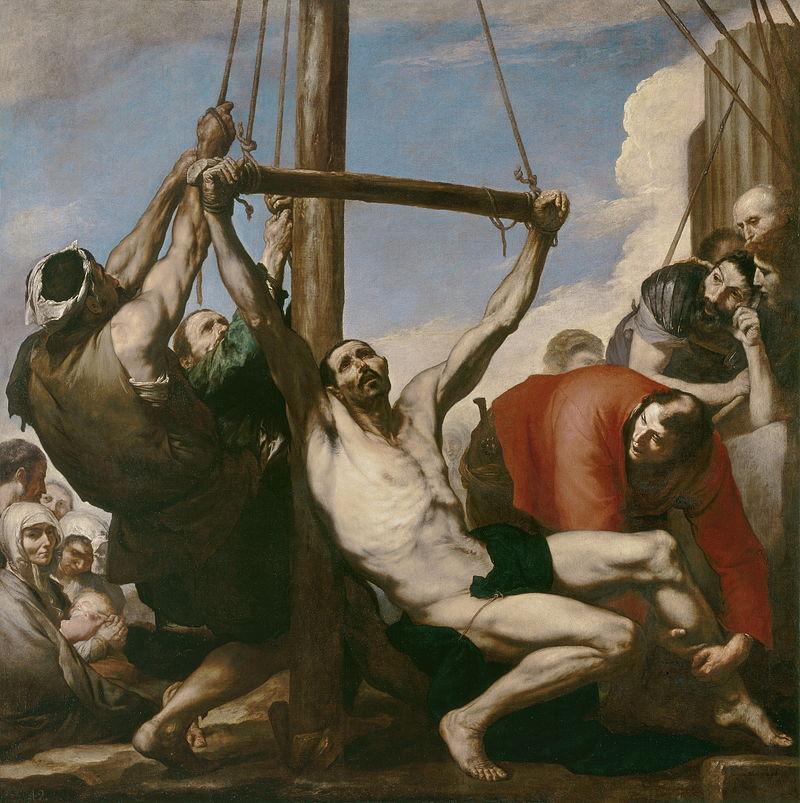 El Españoleto - 1639 Martirio de San Felipe