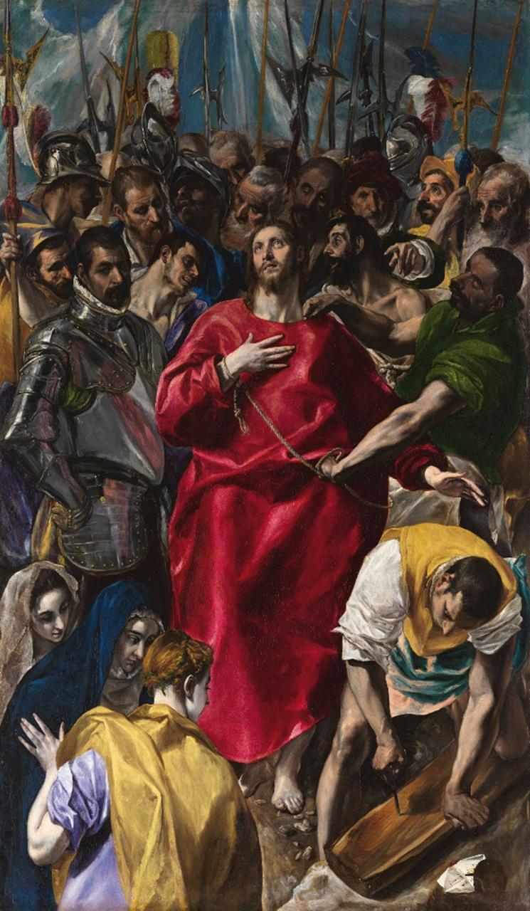 El Greco - 1579 El expolio