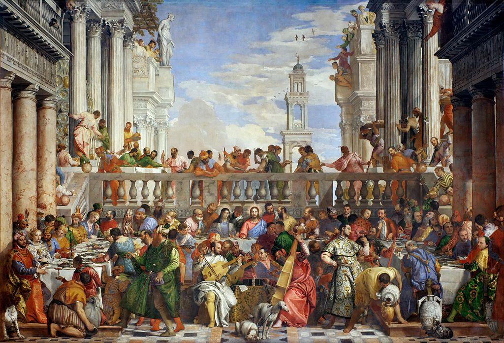 El Veronés - 1563 Las bodas de Canaán