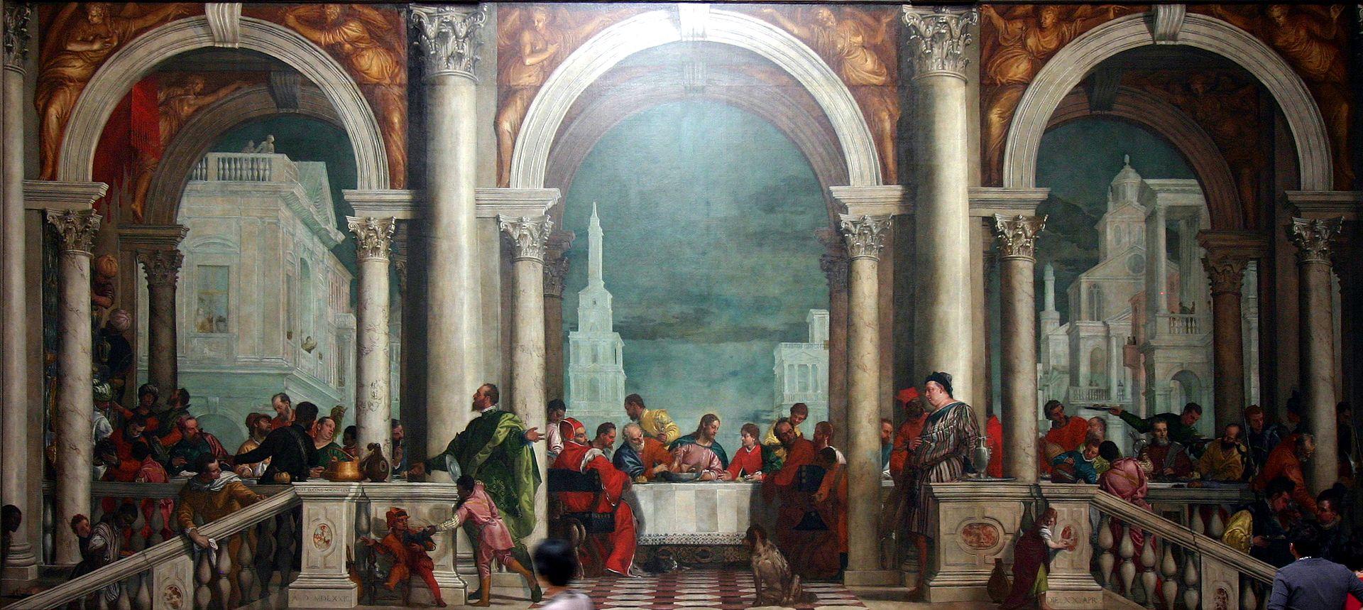El Veronés - 1573 Cena en casa de Leví