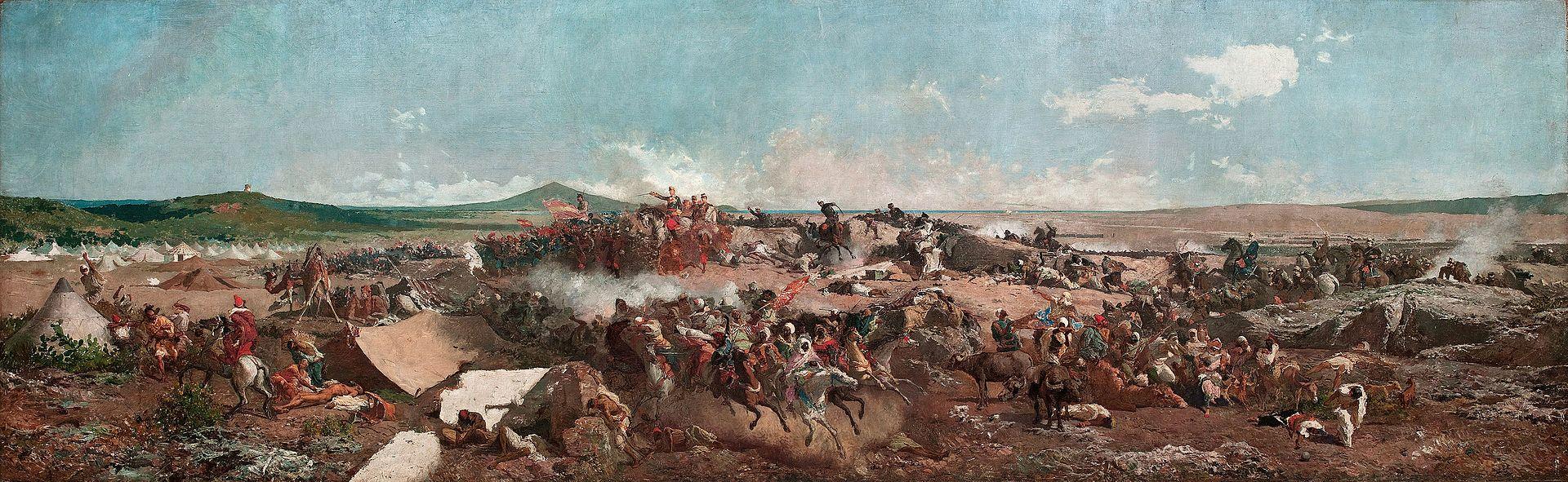 Fortuny - 1864 La batalla de Tetuán