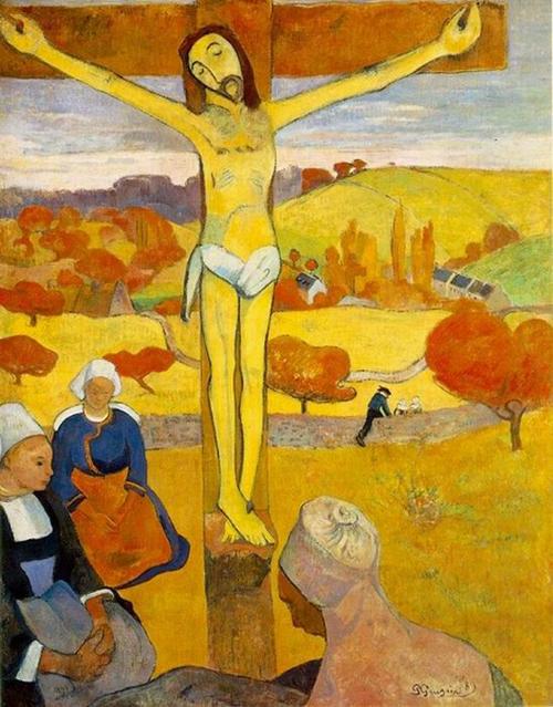 Gauguin - 1889 El Cristo amarillo