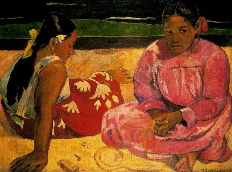 Gauguin - 1891 Mujeres de Tahití