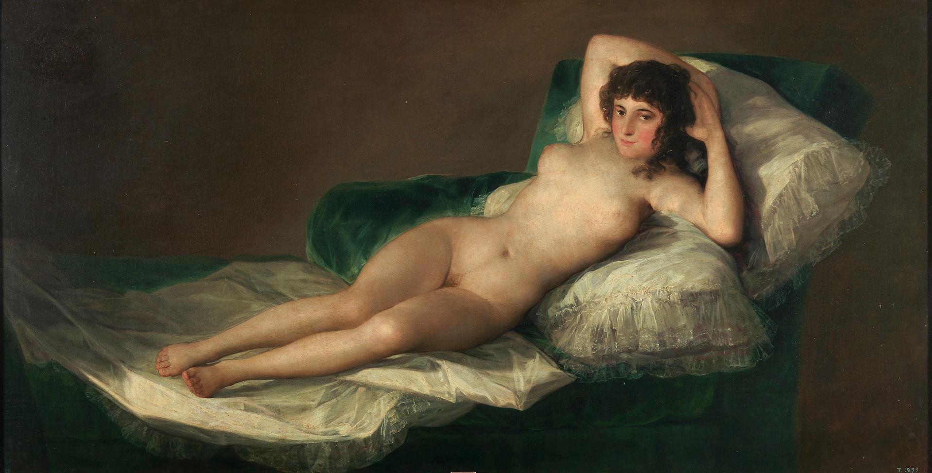 Goya - 1797-1800 La maja desnuda