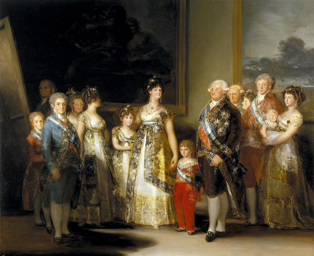Goya - 1800-1801 La familia de Carlos IV