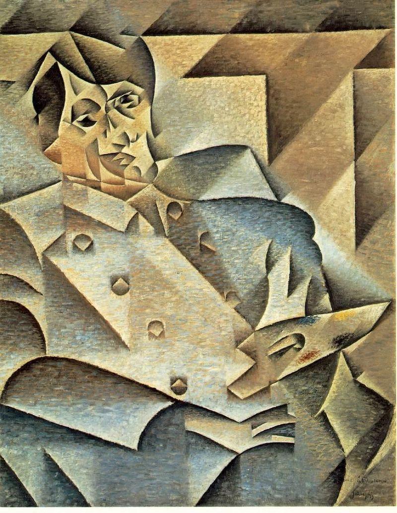 Gris - 1912 Retrato de Pablo Picasso