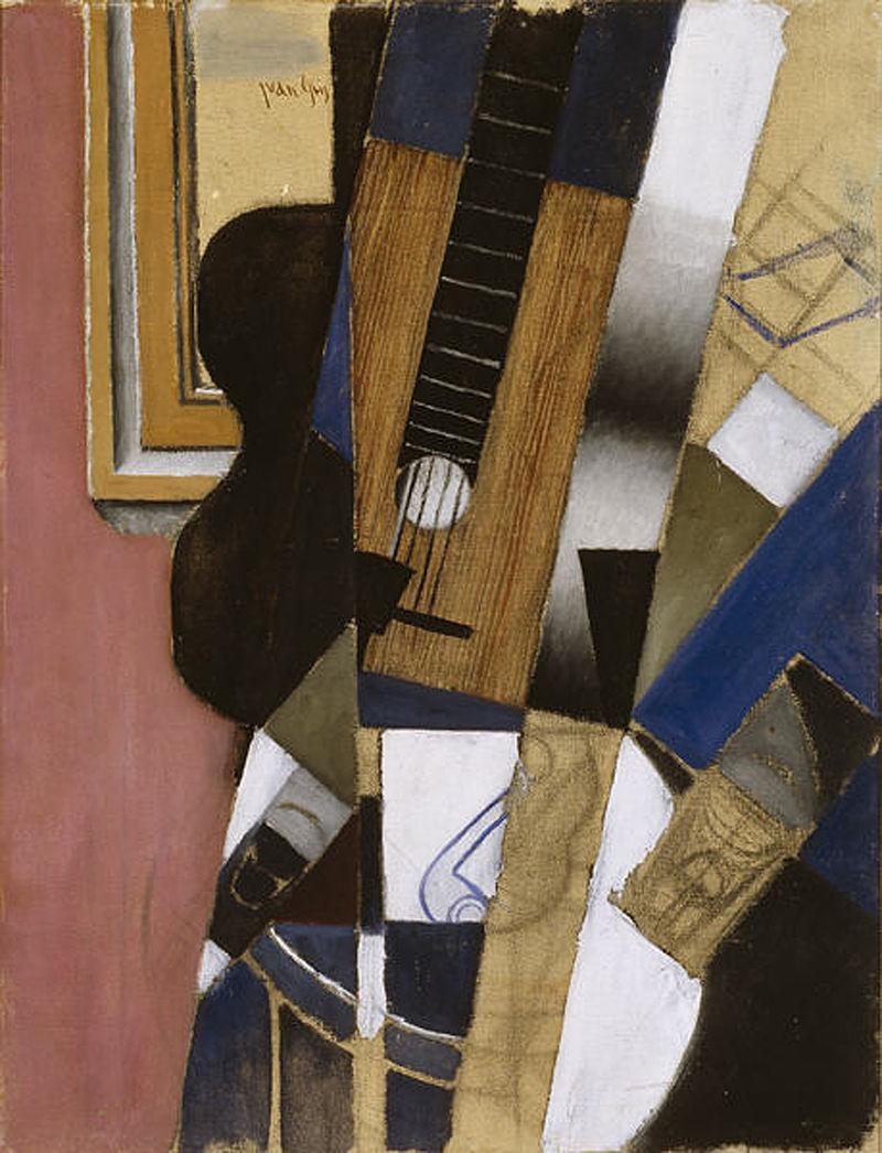 Gris - 1913 Guitarra y pipa