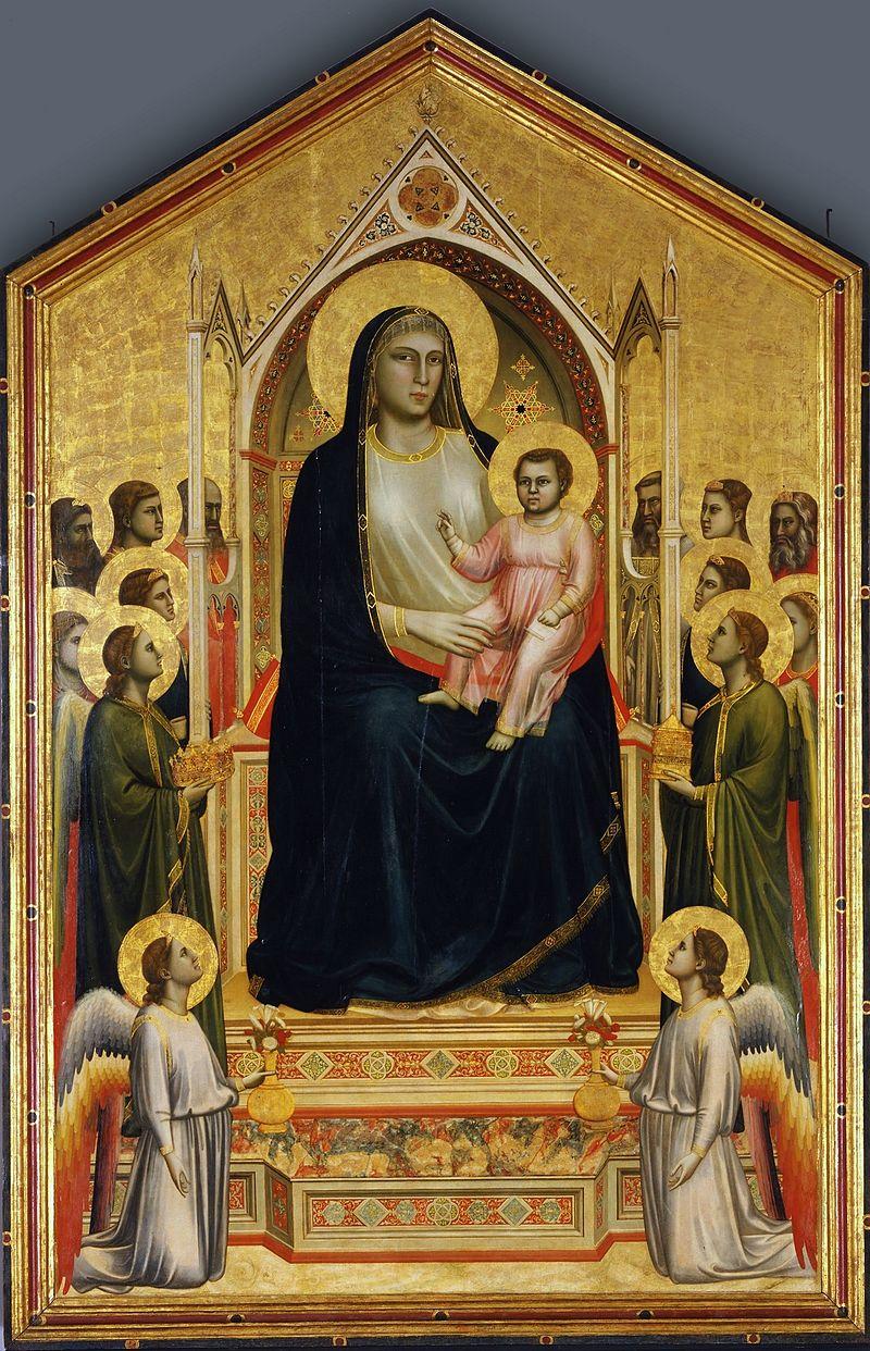 Guiotto - 1310-1311 Maestà (Virgen de Ognissanti)