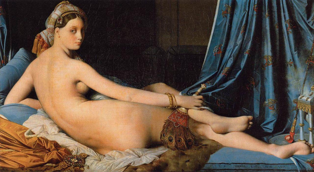 Ingres - 1814 La gran odalisca