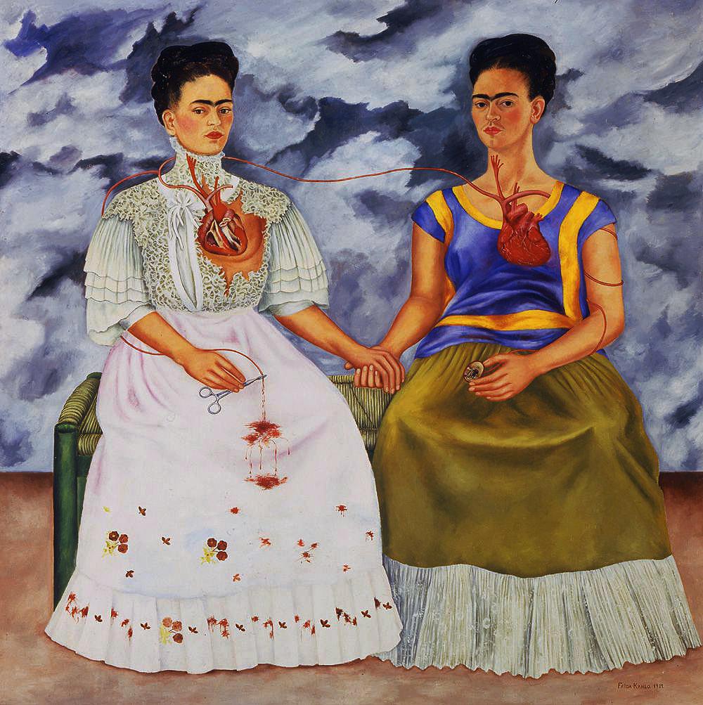 Kahlo - 1939 Las dos Fridas