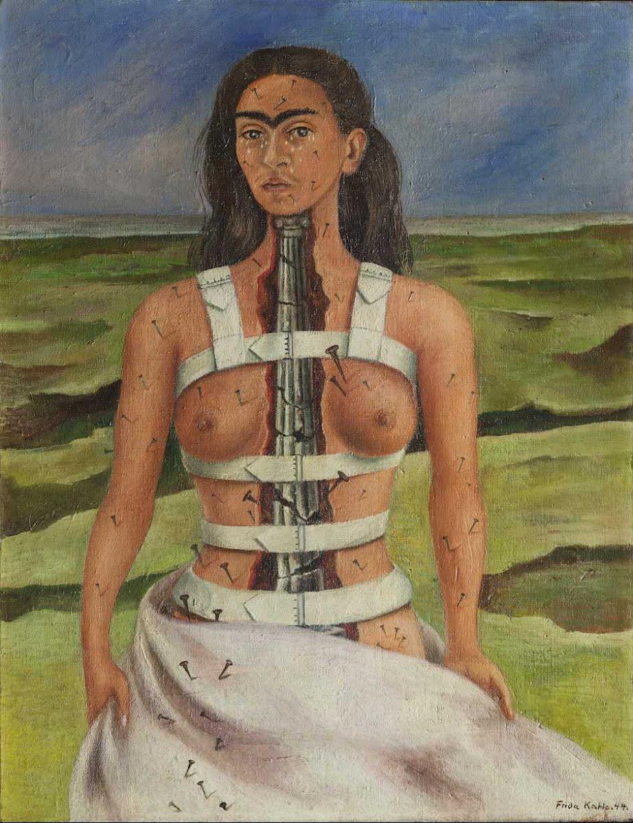 Kahlo - 1944 La columna rota