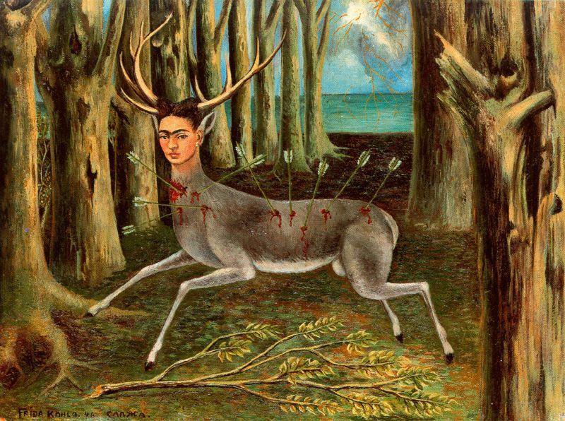 Kahlo - 1946 El venado herido