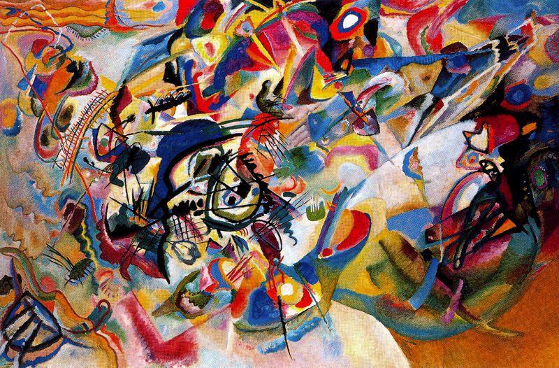 Kandinsky - 1913 Composición VII