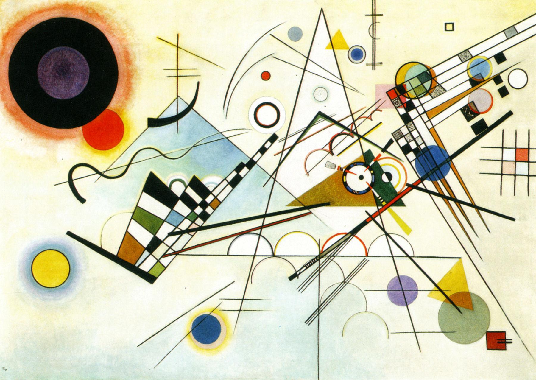 Kandinsky - 1923 Composición VIII