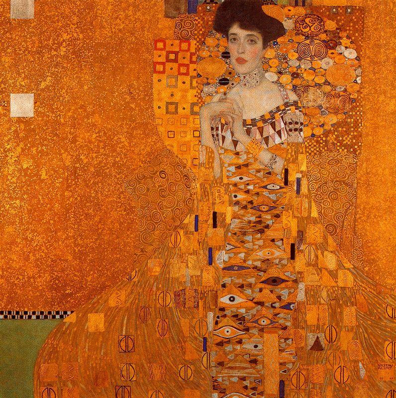 Klimt - 1907 Retrato de Adele Bloch-Bauer I