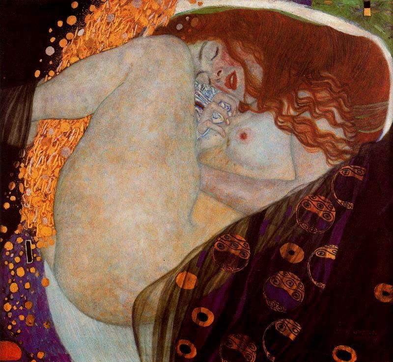 Klimt - 1908 Danae