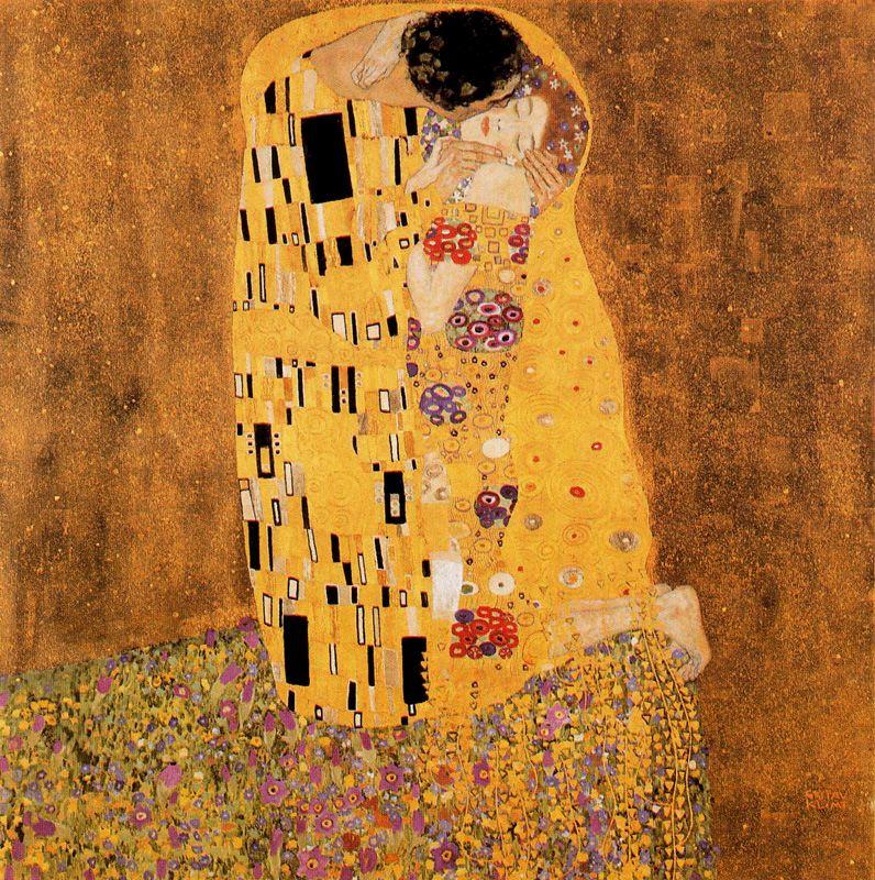 Klimt - 1908 El beso