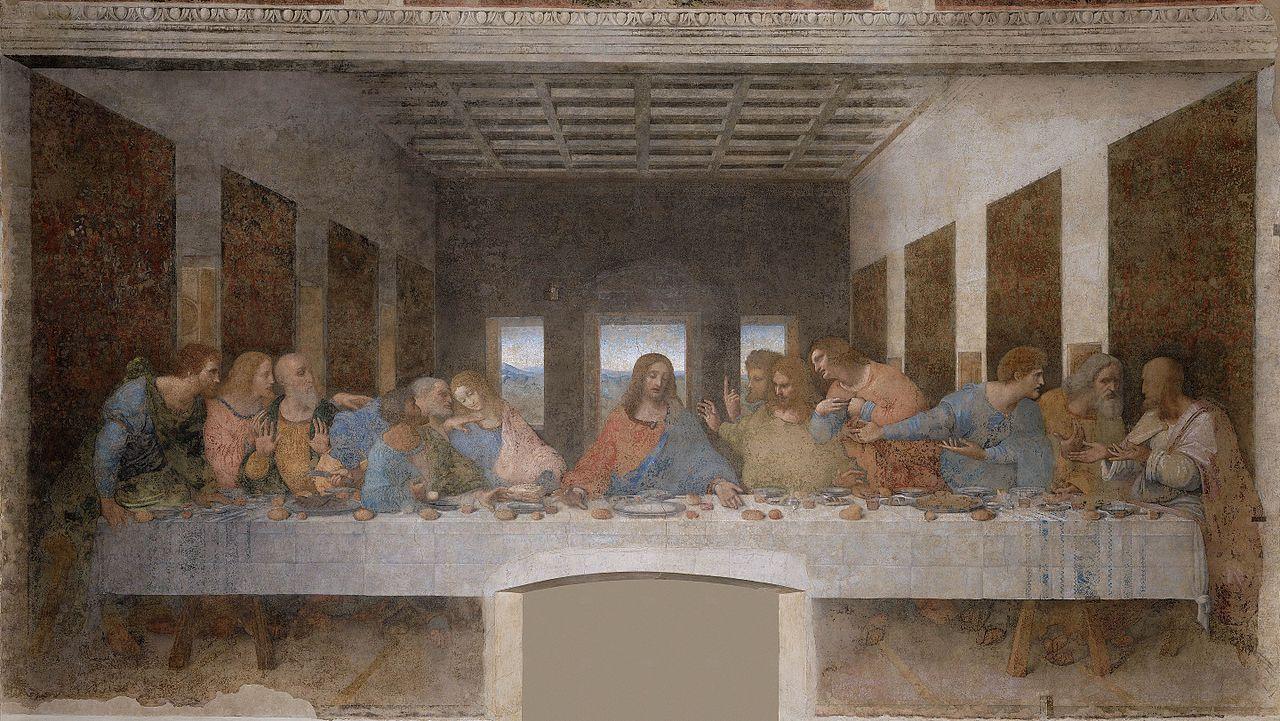 Leonardo - 1495-1497 La última cena