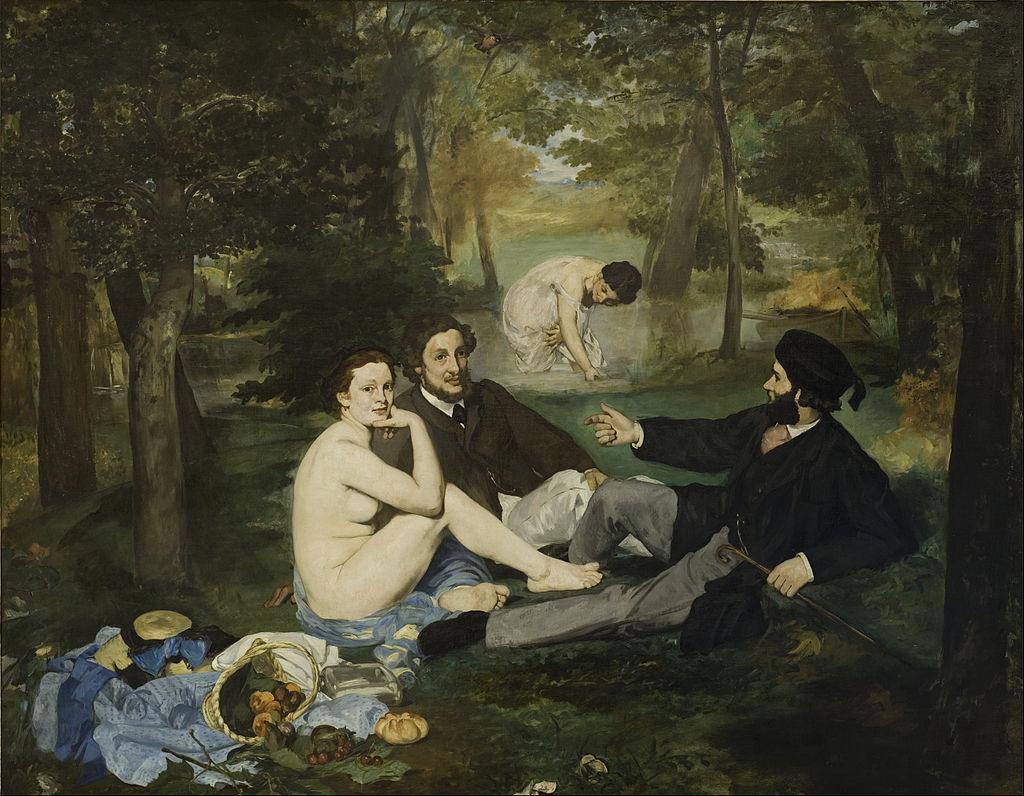 Manet - 1863 Comida en la hierba