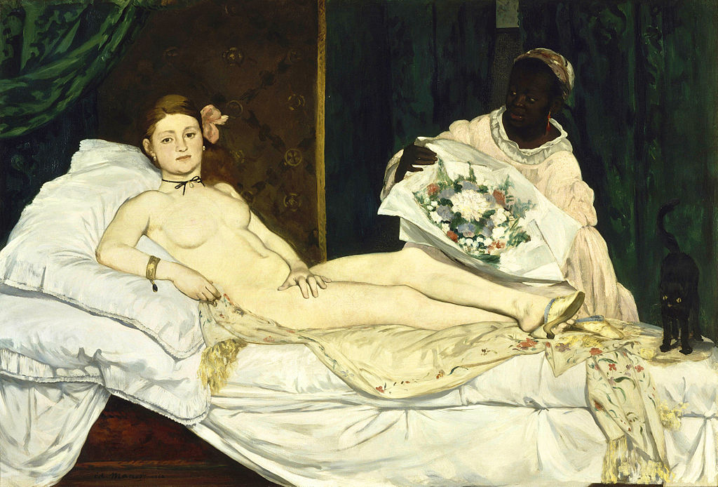 Manet - 1863 Olimpia