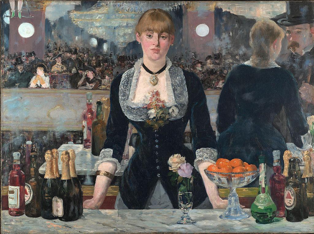 Manet - 1881-1882 Un bar en el Folies Bergère