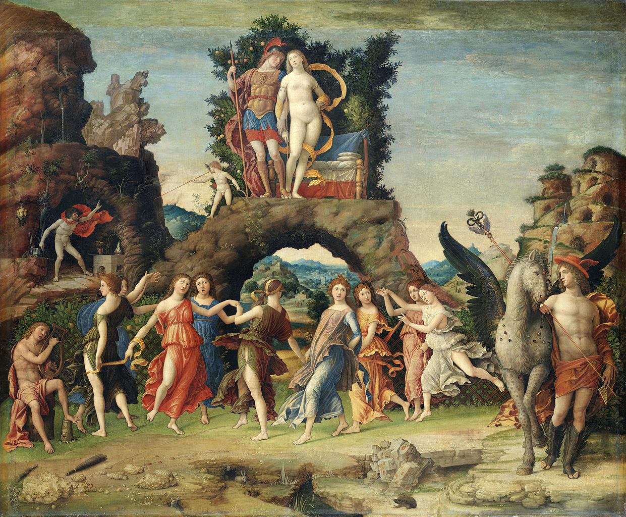 Mantegna - 1497 El Parnaso