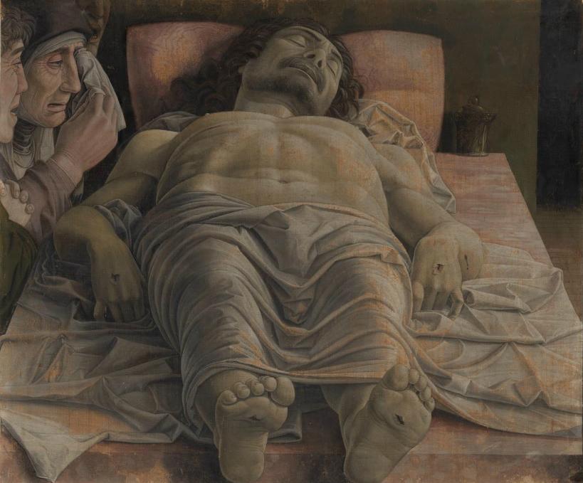 Mantegna - 1500 Cristo muerto