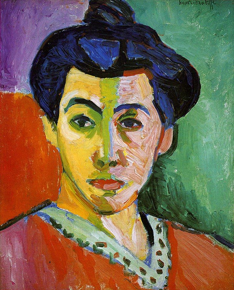Matisse - 1905 La raya verde