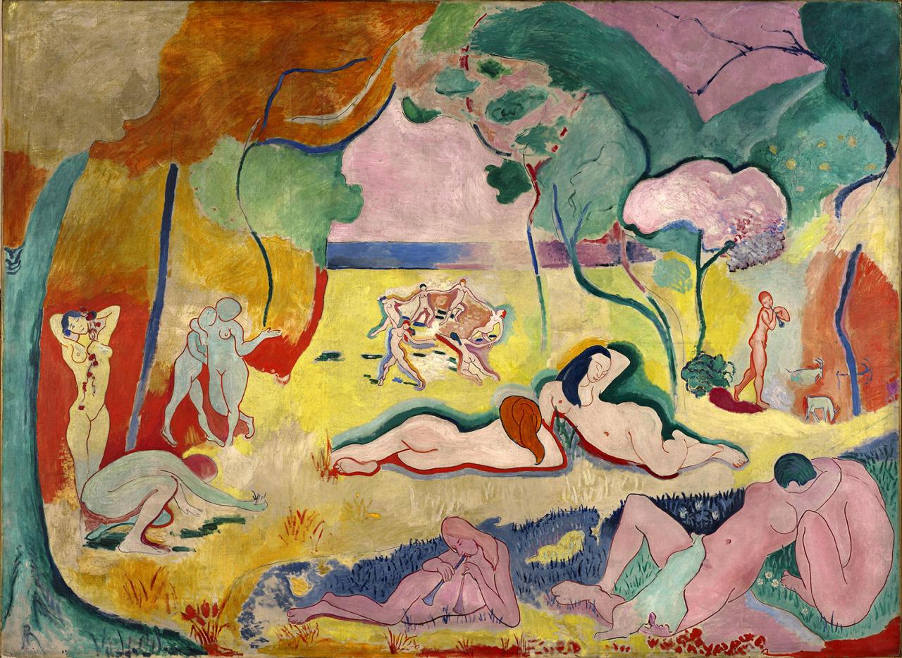 Matisse - 1906 La alegría de vivir