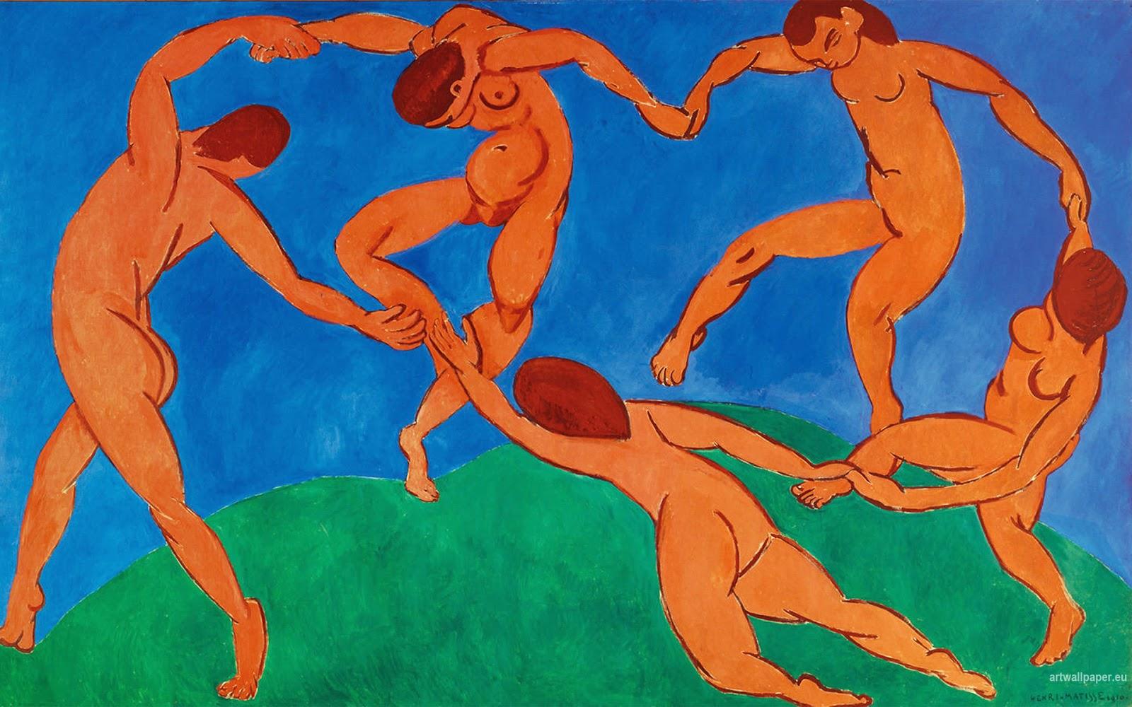 Matisse - 1910 La danza