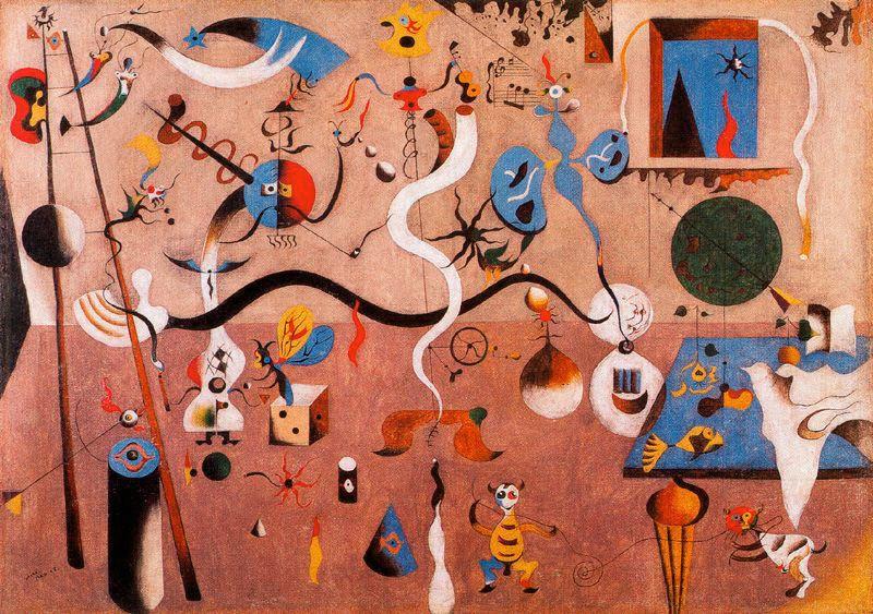 Miró - 1924-1925 Carnaval del arlequín