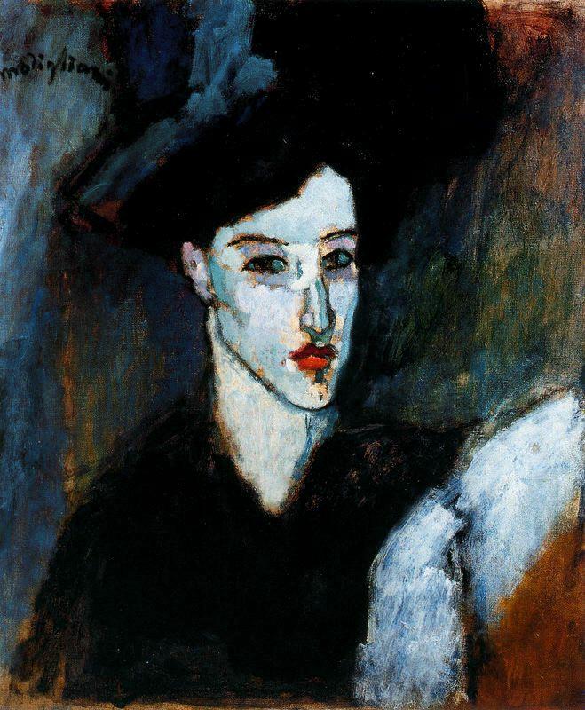 Modigliani - 1908 La mujer judía