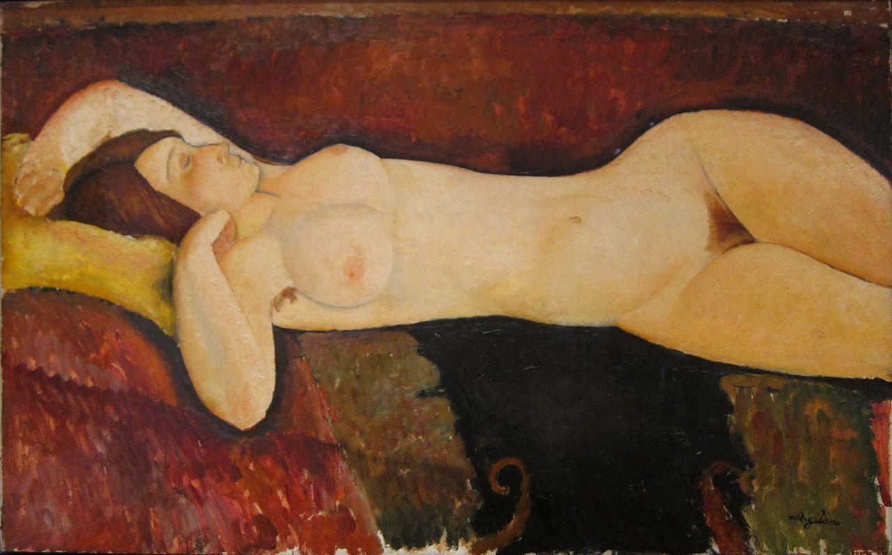 Modigliani - 1919 El gran desnudo
