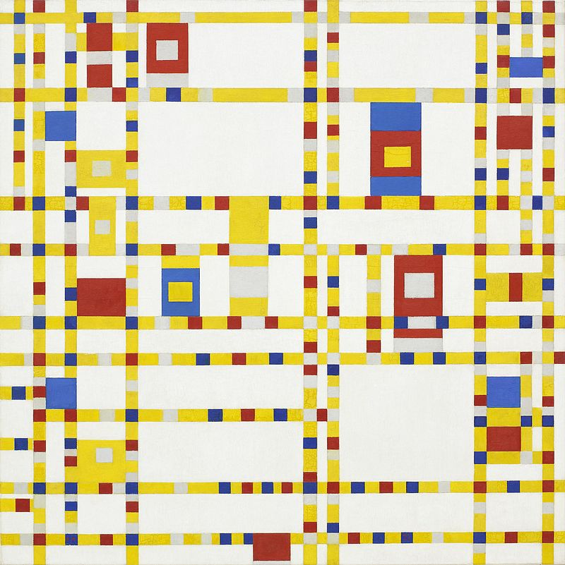 Mondrian - 1943 Broadway Boogie-Woogie